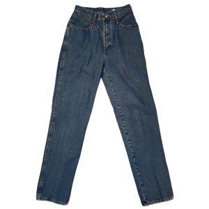 Vintage Rockies Tiny High Rise Bareback Jeans